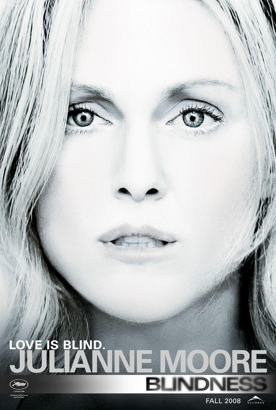 плакат фильма характер-постер Слепота