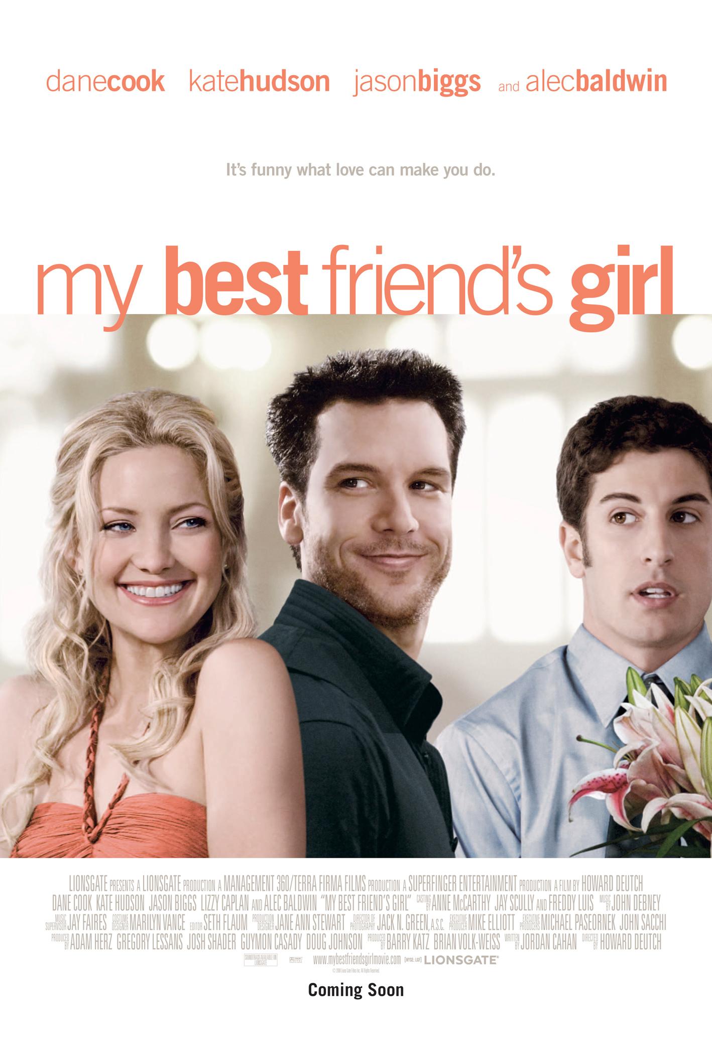 плакат фильма постер Девушка моего лучшего друга