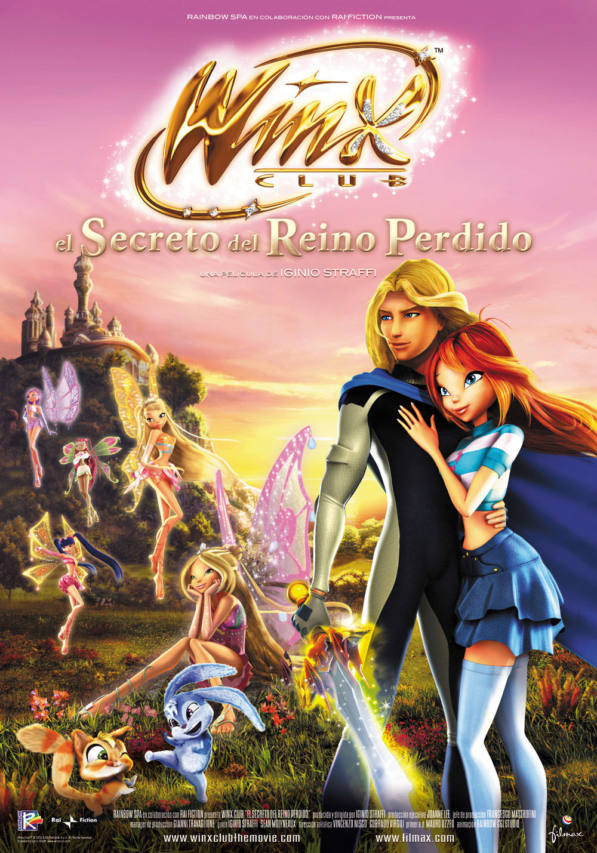 плакат фильма Винкс Клуб: Тайна затерянного королевства