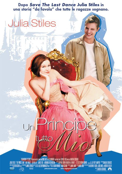 плакат фильма Принц и я