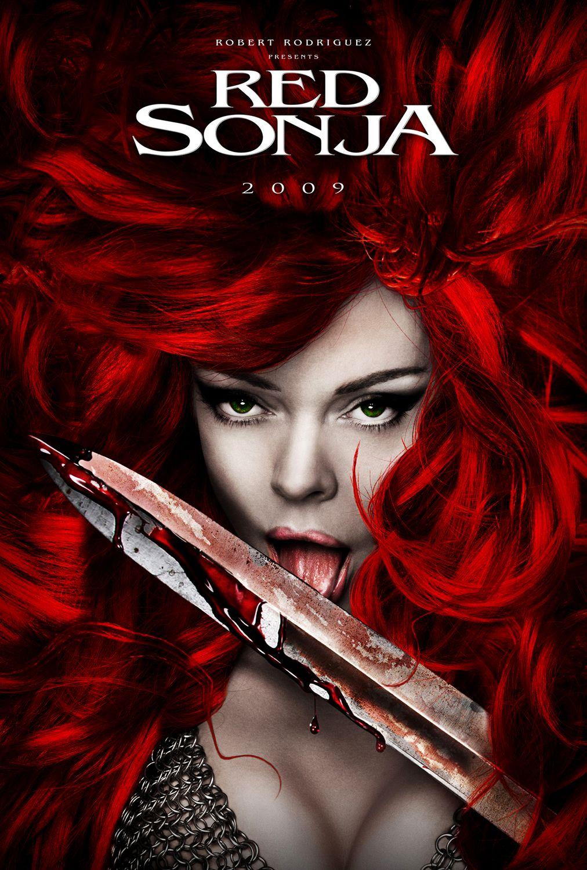 плакат фильма Рыжая Соня*