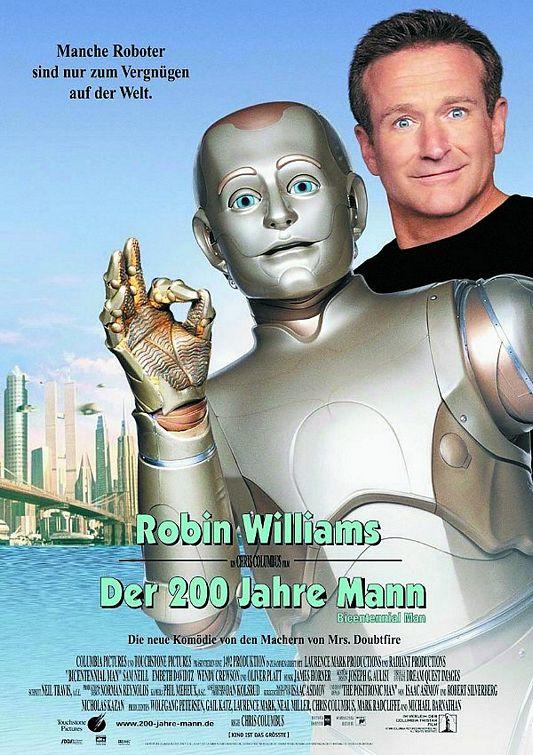 плакат фильма Двухсотлетний человек