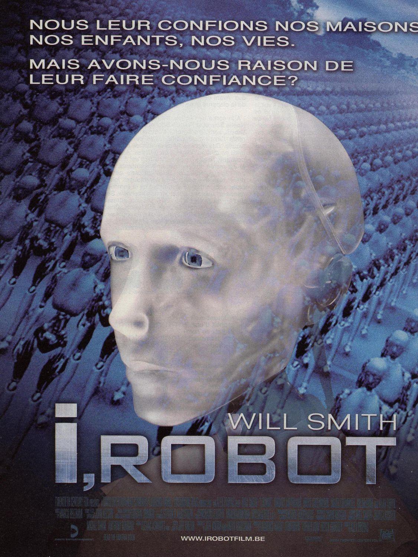 плакат фильма Я, робот