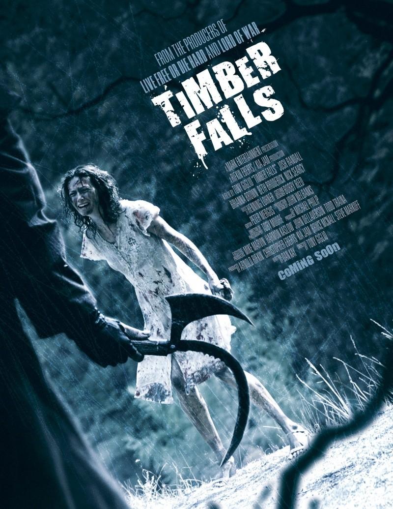 плакат фильма Чужой лес