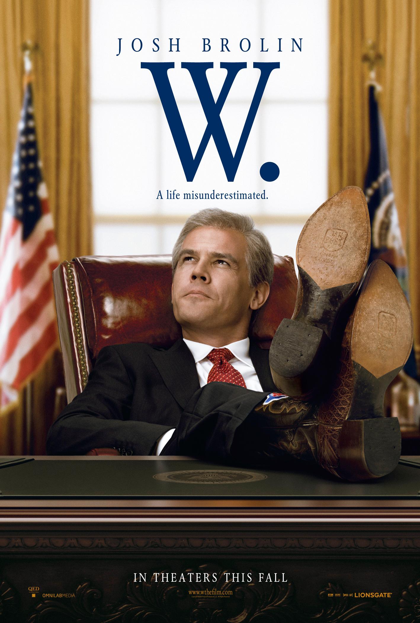 плакат фильма постер Буш-младший