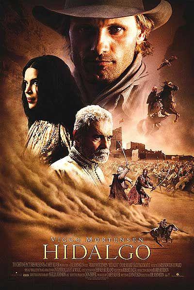 плакат фильма Идальго: Погоня в пустыне