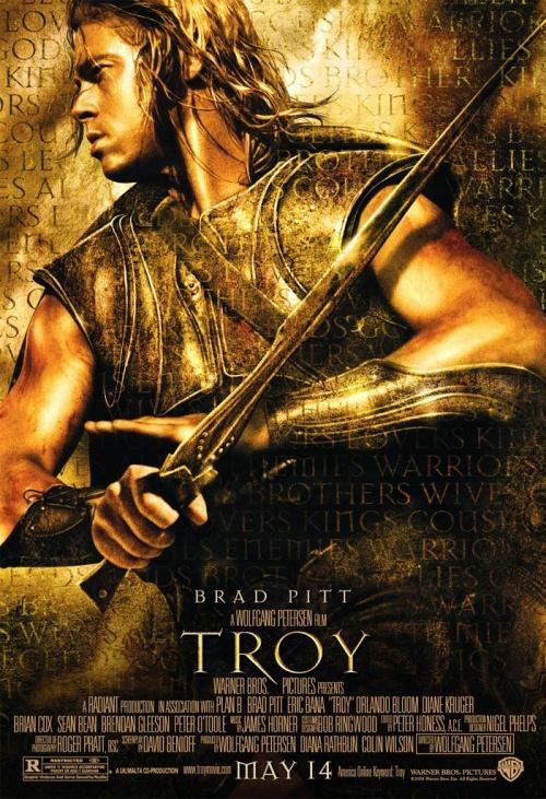 плакат фильма Троя