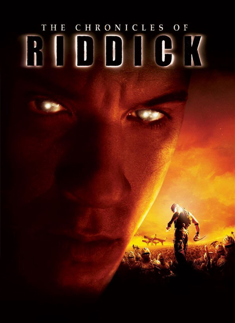 плакат фильма постер Хроники Риддика