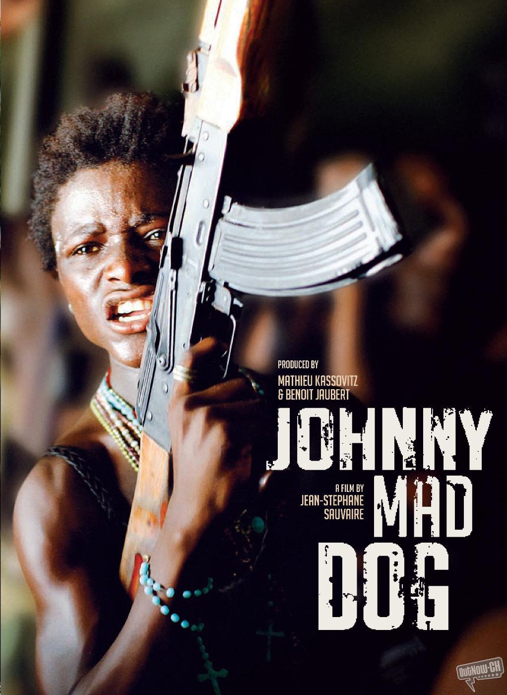 плакат фильма постер Джонни — бешеный пес