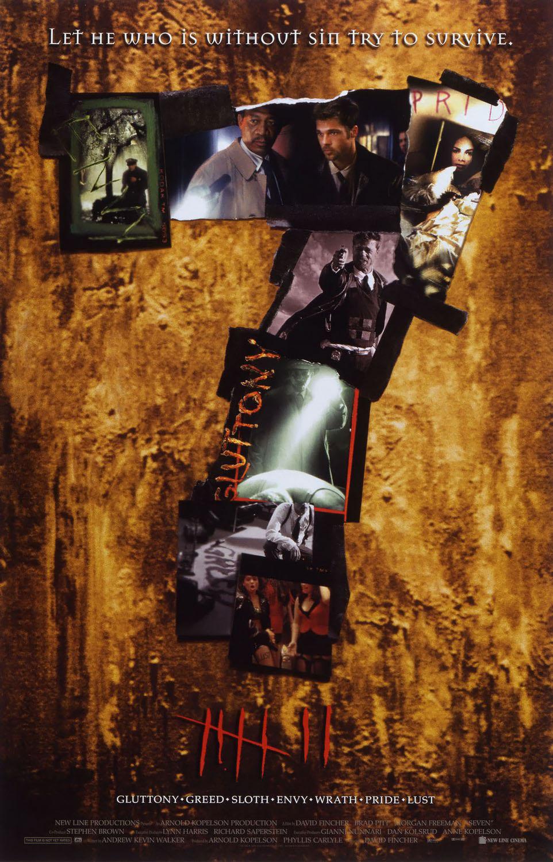 плакат фильма постер Семь