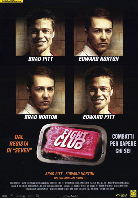 плакат фильма Бойцовский клуб