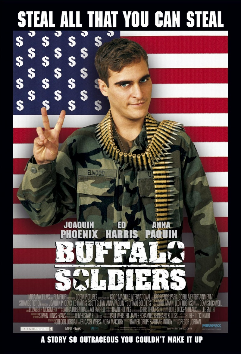 плакат фильма Солдаты Буффало