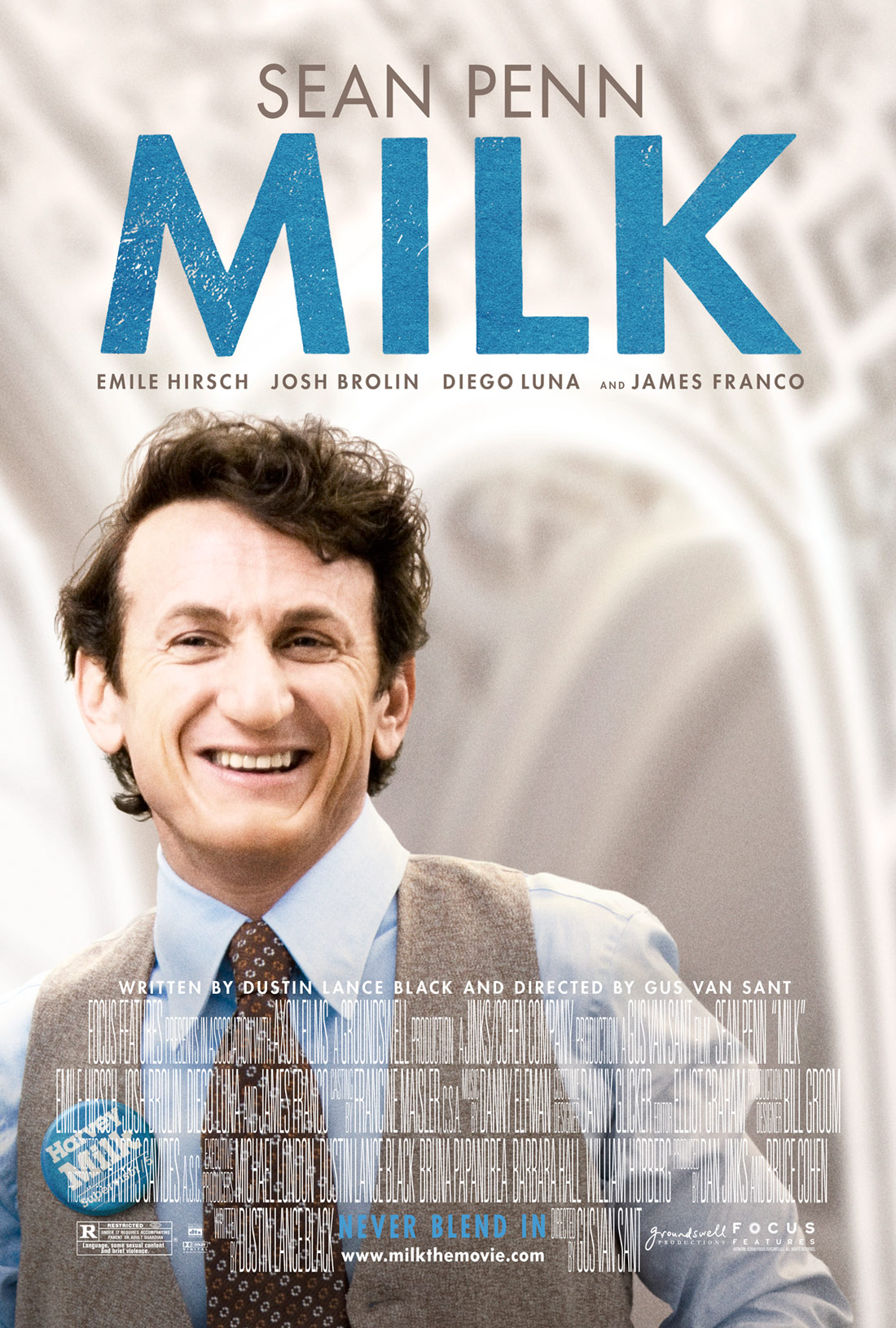 плакат фильма Харви Милк