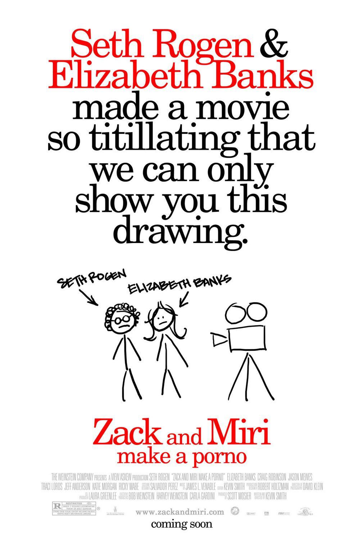 плакат фильма Зак и Мири снимают порно