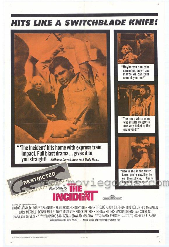 плакат фильма Инцидент, или Случай в метро