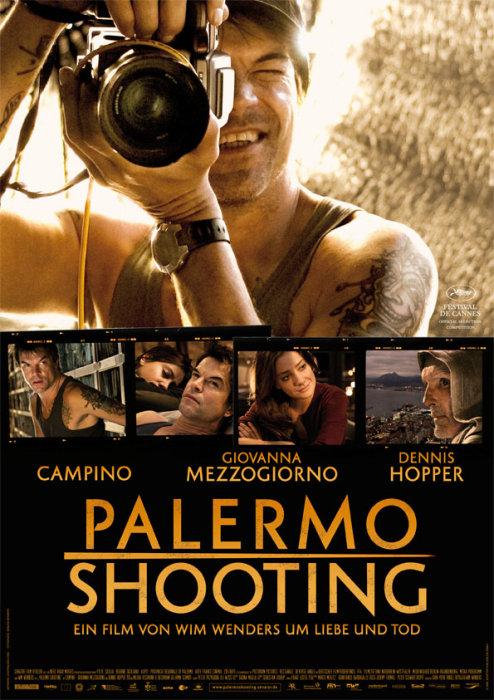 плакат фильма Съемки в Палермо