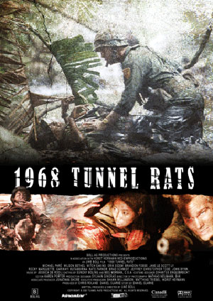 плакат фильма Туннельные крысы*