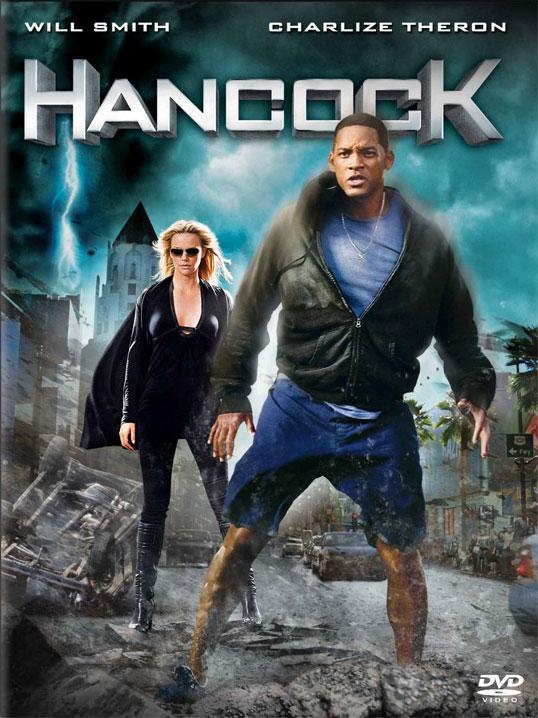 плакат фильма Хэнкок
