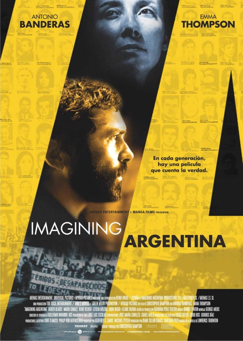 плакат фильма Мечтая об Аргентине