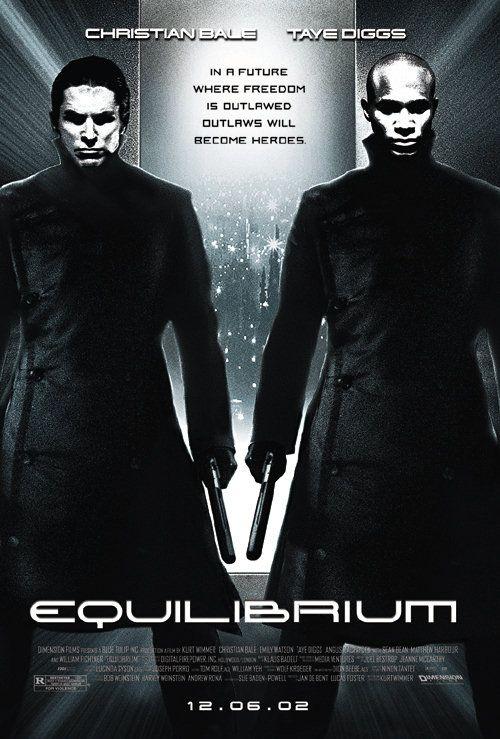 плакат фильма Эквилибриум
