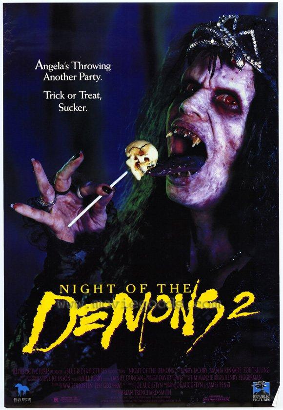 плакат фильма Ночь демонов 2