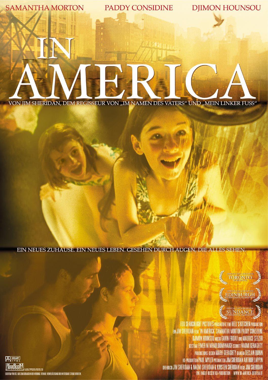 плакат фильма В Америке