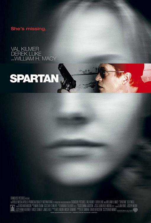 плакат фильма Спартанец