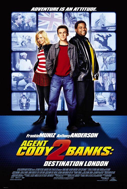 плакат фильма Агент Коди Бэнкс 2: Пункт назначения — Лондон