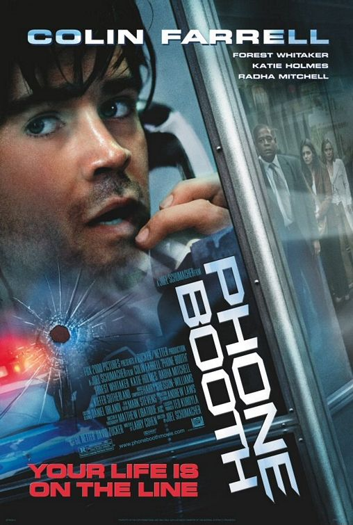 плакат фильма Телефонная будка