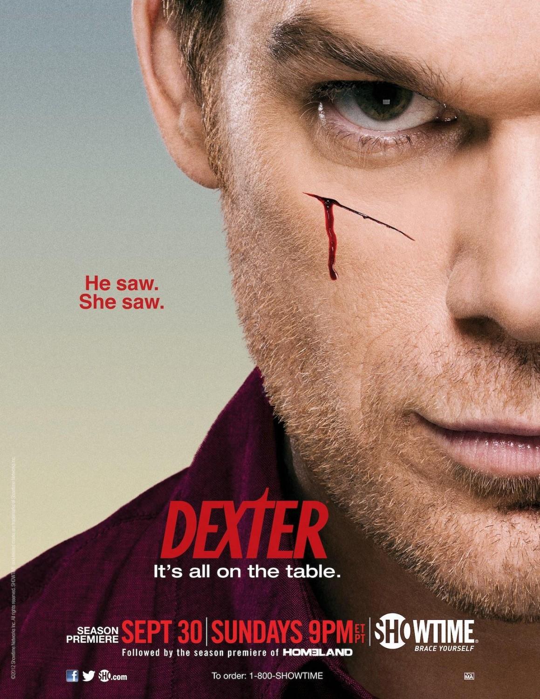 плакат фильма постер Декстер