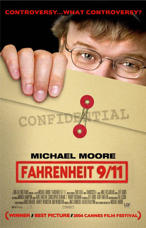 плакат фильма Фаренгейт 9/11