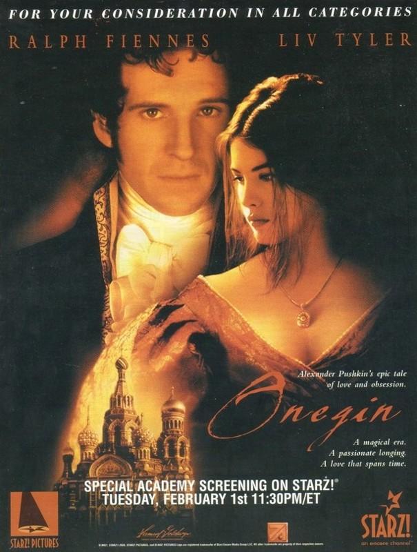 плакат фильма Онегин