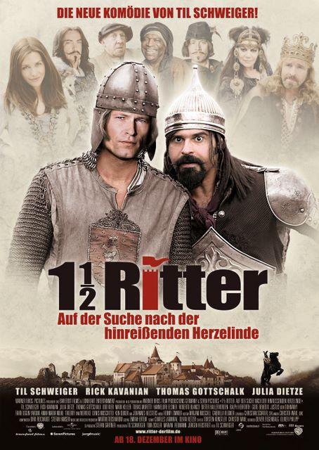 плакат фильма Полтора рыцаря: В поисках похищенной принцессы Херцелинды