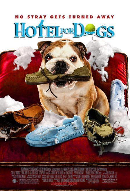 плакат фильма Отель для собак