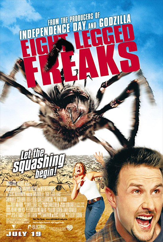 плакат фильма Атака пауков