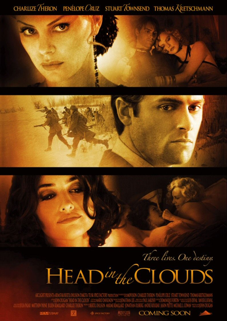 плакат фильма Голова в облаках