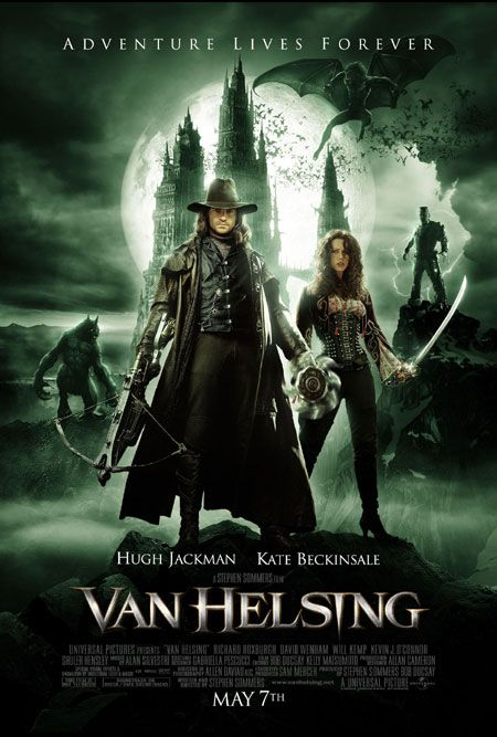 плакат фильма постер Ван Хельсинг