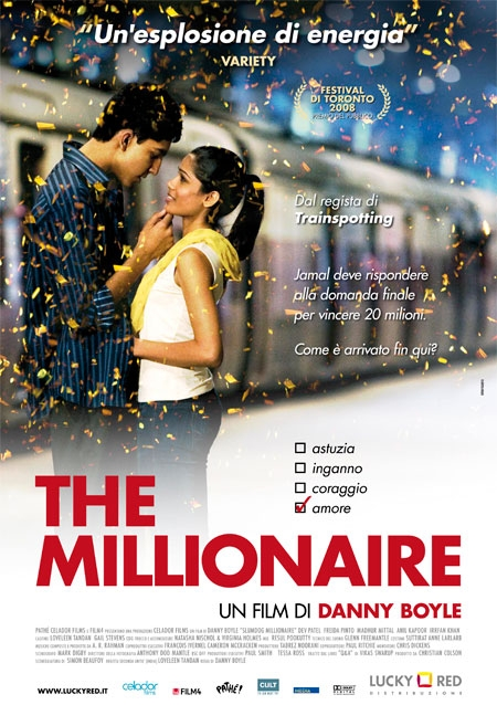 плакат фильма Миллионер из трущоб