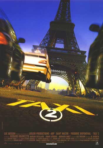 плакат фильма постер Такси 2