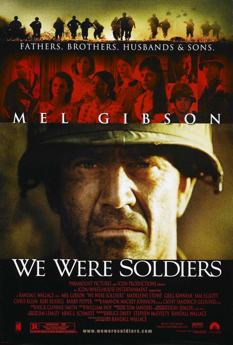 плакат фильма постер Мы были солдатами