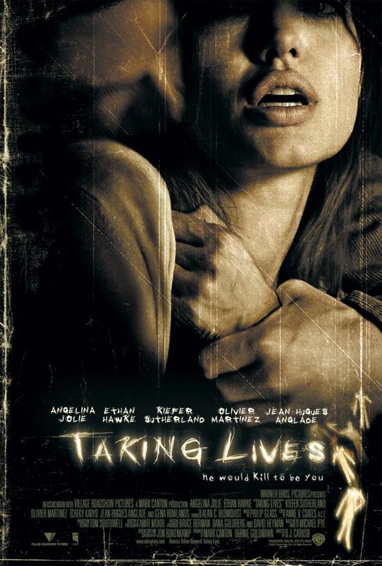 плакат фильма Забирая жизни