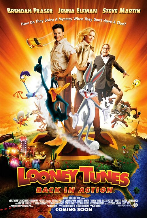 плакат фильма Луни Тюнз: снова в деле