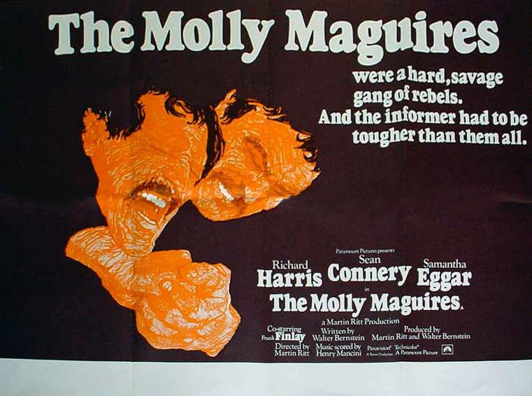 плакат фильма Молли Магуайерс