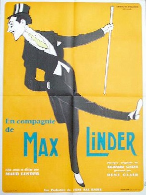плакат фильма В компании Макса Линдера
