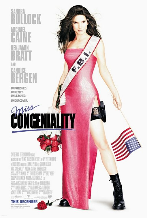плакат фильма Мисс Конгениальность