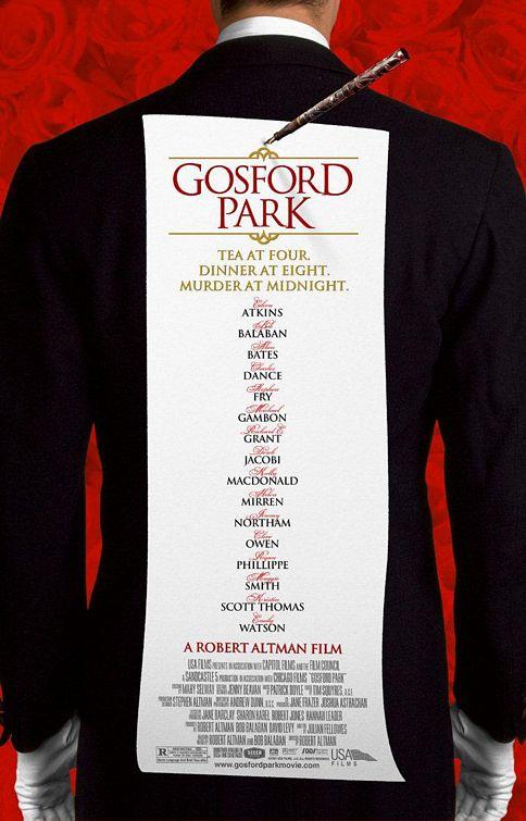 плакат фильма Госфорд парк