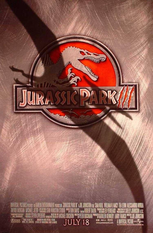 плакат фильма Парк Юрского периода III