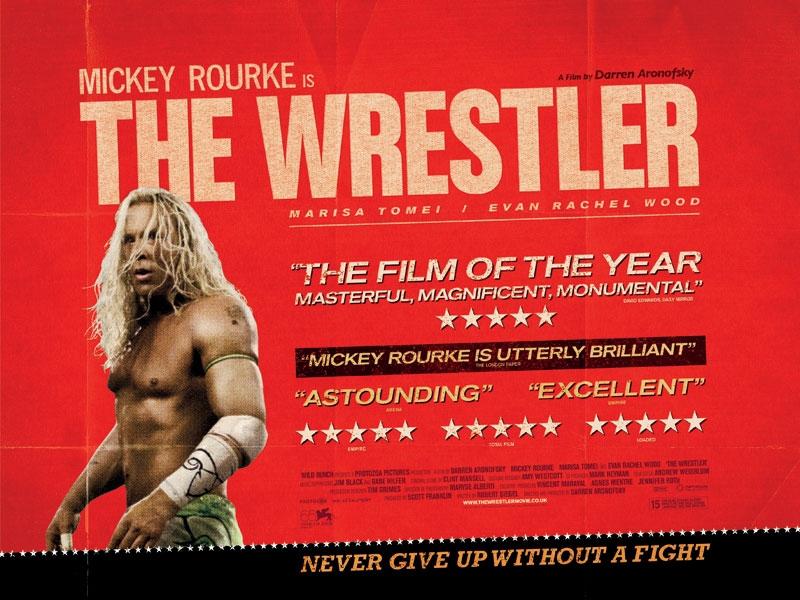 плакат фильма Рестлер