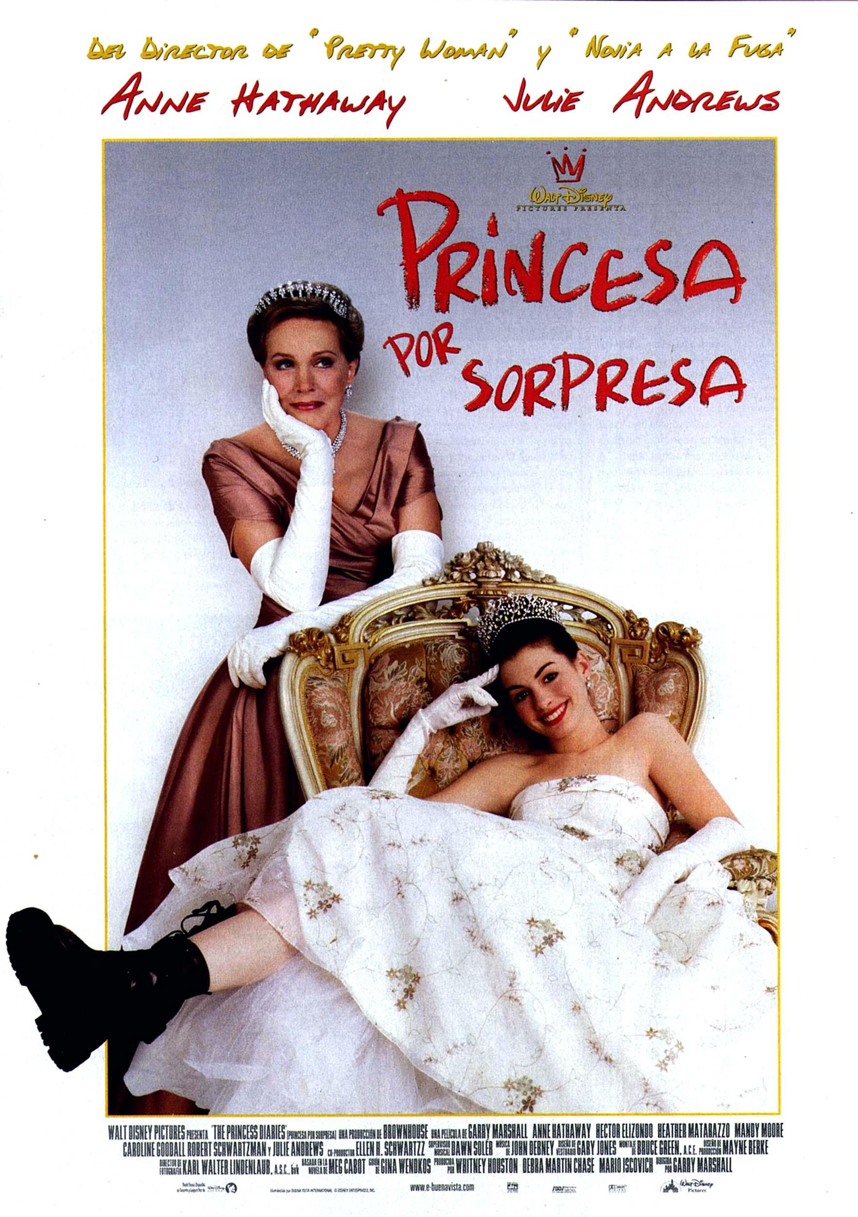 плакат фильма Как стать принцессой