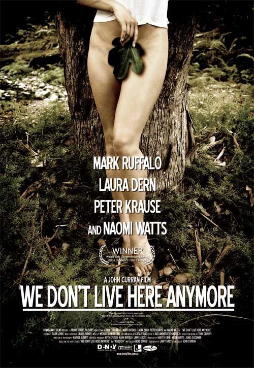 плакат фильма Мы здесь больше не живем